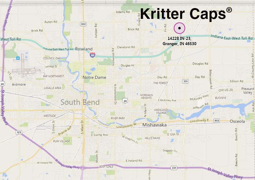 Kritter Caps 14228 IN-23 Granger, IN 46530